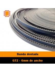 Banda Dentada GT2 6mm reforzada