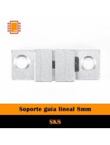 Soporte para guía lineal SK8