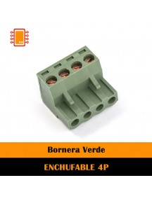 BORNERA, BLOQUE DE TERMINAL ENCHUFABLE 4P