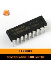 Arreglo de 8 Transistores Darligton Tipo DIP de 18 pines ULN2803APG