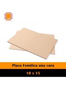 PLACA FENOLICA UNA CARA 10X15