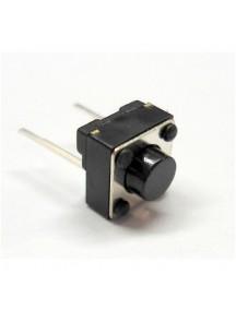 Interruptor De Botón (microswitch) De 6x6x5mm 2 pines