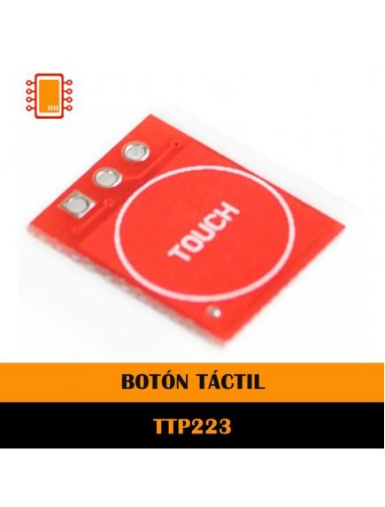 BOTÓN TÁCTIL TTP223