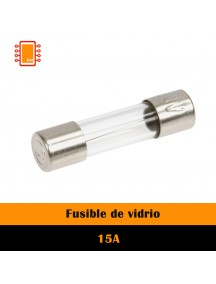Fusible de Vidrio 15A