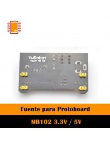 Fuente para protoboard 5v/3.3v