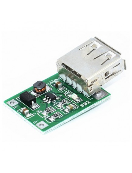 Regulador Dc-dc Subida, Entrada 0.9-5v, Salida Usb 600 Ma 5v