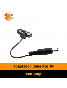 Adaptador Conector 9v Plug 2.1 Mm Barrel Jack