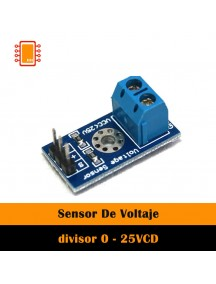 Sensor De Voltaje