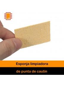 Esponja limpiadora de punta de cautín