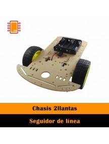 Chasis Seguidor de Línea 2 llantas