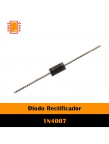 Diodo rectificador 1 amper 1N4007
