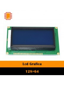 Display LCD 128x64 Azul Backlight