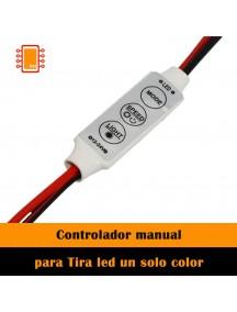 Dimmer control Sencillo Manual para Tira a 12V a 24V