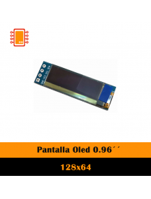 Display Pantalla Oled Blanco 128×32 0.91