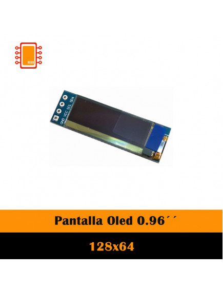 Display Pantalla Oled Blanco 128×32 0.91