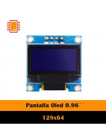 Display Lcd Oled 128×64 0.96""
