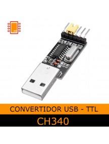 Convertidor Usb A Rs232 TTL CH340