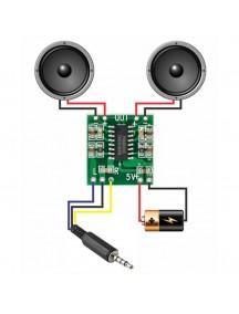 Amplificador clase D 3Wx2 - PAM8403
