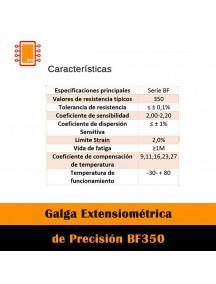 Galga Extensiométrica De Precisión Bf350