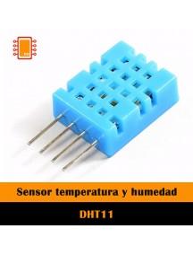 DHT11 Sensor de Temperatura y Humedad