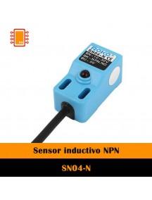 Sensor inductivo NPN SN04-N