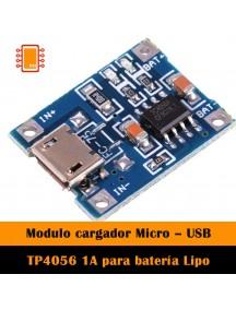 Cargador Batería Litio Con Protección Módulo TP4056
