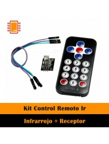 Kit Control Remoto Ir Infrarrojo + Receptor