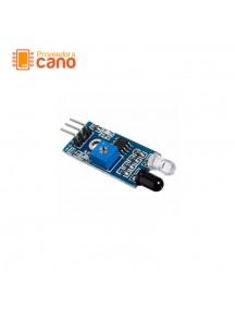 Módulo sensor óptico infrarrojo, detección de obstáculos, seguidor de linea