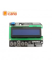 LCD 1602 Keypad Shield con botones