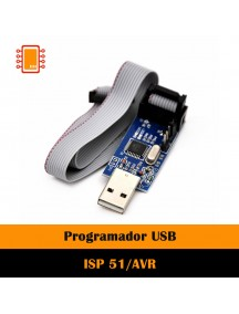 Usbasp Usbisp 3.3v / 5v 51 Avr Programador Usb Atmega