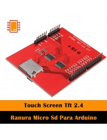 Touch Screen Tft 2.4 Ranura Micro Sd Para Arduino