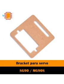 Base de acrílico para Servomotor SG90 / MG90S