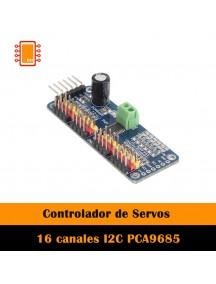 Controlador de Servos 16 canales I2C PCA9685