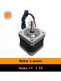 Motor A Pasos NEMA 17 1.7A