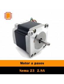 Motor A Pasos NEMA 23 2.8a