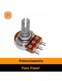 Potenciometro rotatorio de carbon 15mm